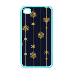 Winter Pattern 15 Apple Iphone 4 Case (color) by tarastyle