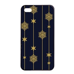 Winter Pattern 15 Apple Iphone 4/4s Seamless Case (black) by tarastyle