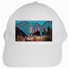 Modern Norway Painting White Cap by 8fugoso
