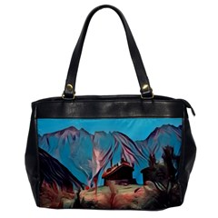 Modern Norway Painting Office Handbags by 8fugoso
