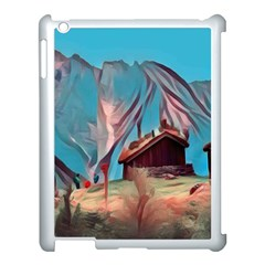 Modern Norway Painting Apple Ipad 3/4 Case (white) by 8fugoso