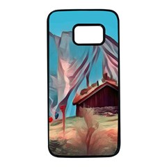Modern Norway Painting Samsung Galaxy S7 Black Seamless Case by 8fugoso