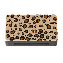 Leopard Print Memory Card Reader With Cf by TRENDYcouture