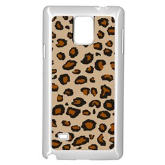 Leopard Print Samsung Galaxy Note 4 Case (white) by TRENDYcouture