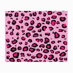 Pink Leopard Small Glasses Cloth (2-side)