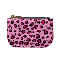 Pink Leopard Mini Coin Purses
