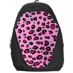Pink Leopard Backpack Bag