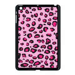 Pink Leopard Apple Ipad Mini Case (black)