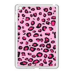 Pink Leopard Apple Ipad Mini Case (white)