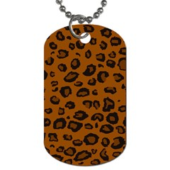 Dark Leopard Dog Tag (two Sides) by TRENDYcouture