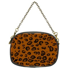 Dark Leopard Chain Purses (two Sides)  by TRENDYcouture