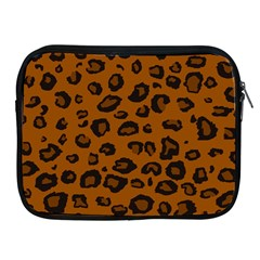 Dark Leopard Apple Ipad 2/3/4 Zipper Cases by TRENDYcouture