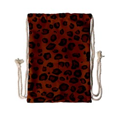 Dark Leopard Drawstring Bag (small) by TRENDYcouture