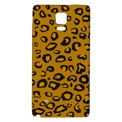 Golden Leopard Galaxy Note 4 Back Case by TRENDYcouture