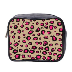 Pink Leopard 2 Mini Toiletries Bag 2 Side by TRENDYcouture