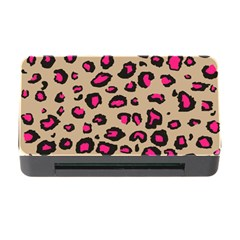 Pink Leopard 2 Memory Card Reader With Cf by TRENDYcouture