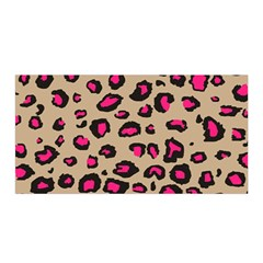 Pink Leopard 2 Satin Wrap by TRENDYcouture
