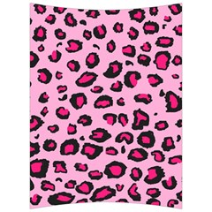 Pink Leopard Back Support Cushion
