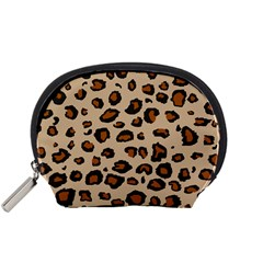 Leopard Print Accessory Pouches (small)  by DreamCanvas