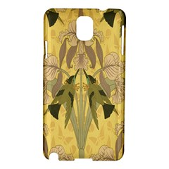 Art Nouveau Samsung Galaxy Note 3 N9005 Hardshell Case by 8fugoso