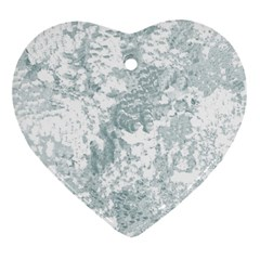 Countryblueandwhite Ornament (heart)