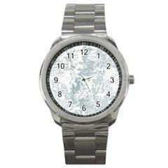 Countryblueandwhite Sport Metal Watch