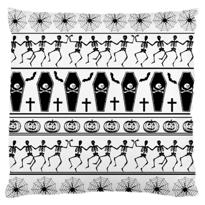 Halloween pattern Standard Flano Cushion Case (Two Sides)