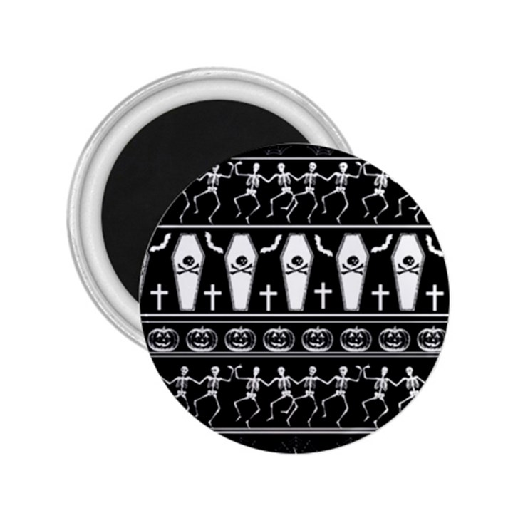 Halloween pattern 2.25  Magnets