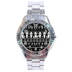 Halloween pattern Stainless Steel Analogue Watch Front