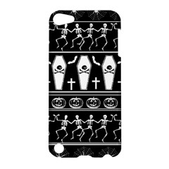 Halloween Pattern Apple Ipod Touch 5 Hardshell Case by ValentinaDesign