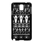 Halloween pattern Samsung Galaxy Note 3 Neo Hardshell Case (Black) Front