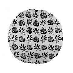 Vintage Roses Standard 15  Premium Round Cushions by allgirls