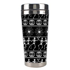 Halloween Pattern Stainless Steel Travel Tumblers by ValentinaDesign