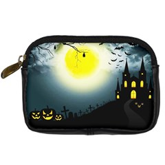 Halloween Landscape Digital Camera Cases by ValentinaDesign