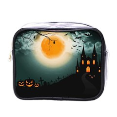 Halloween Landscape Mini Toiletries Bags by ValentinaDesign