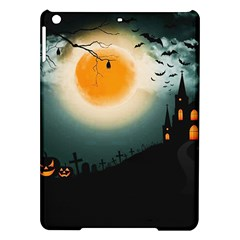 Halloween Landscape Ipad Air Hardshell Cases by ValentinaDesign