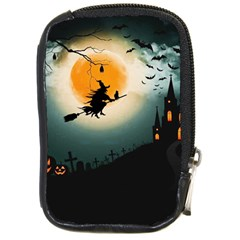 Halloween Landscape Compact Camera Cases by ValentinaDesign