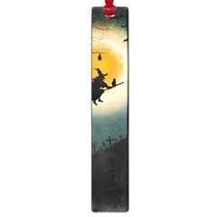 Halloween Landscape Large Book Marks by ValentinaDesign