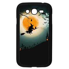 Halloween Landscape Samsung Galaxy Grand Duos I9082 Case (black) by ValentinaDesign
