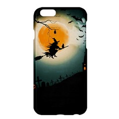 Halloween Landscape Apple Iphone 6 Plus/6s Plus Hardshell Case by ValentinaDesign