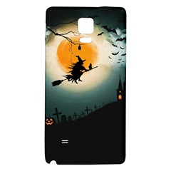 Halloween Landscape Galaxy Note 4 Back Case by ValentinaDesign