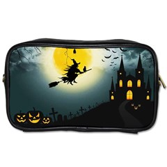 Halloween Landscape Toiletries Bags 2 Side by ValentinaDesign