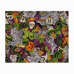 Halloween Pattern Small Glasses Cloth by ValentinaDesign