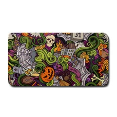 Halloween Pattern Medium Bar Mats by ValentinaDesign