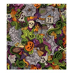 Halloween Pattern Shower Curtain 66  X 72  (large)  by ValentinaDesign
