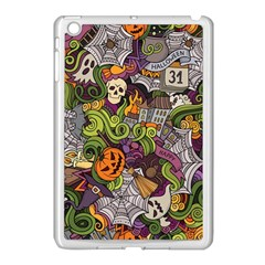 Halloween Pattern Apple Ipad Mini Case (white) by ValentinaDesign