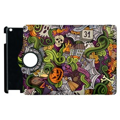 Halloween Pattern Apple Ipad 3/4 Flip 360 Case by ValentinaDesign