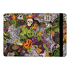 Halloween Pattern Samsung Galaxy Tab Pro 10 1  Flip Case by ValentinaDesign