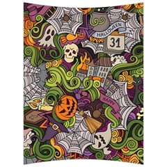 Halloween Pattern Back Support Cushion by ValentinaDesign