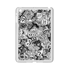 Halloween Pattern Ipad Mini 2 Enamel Coated Cases by ValentinaDesign
